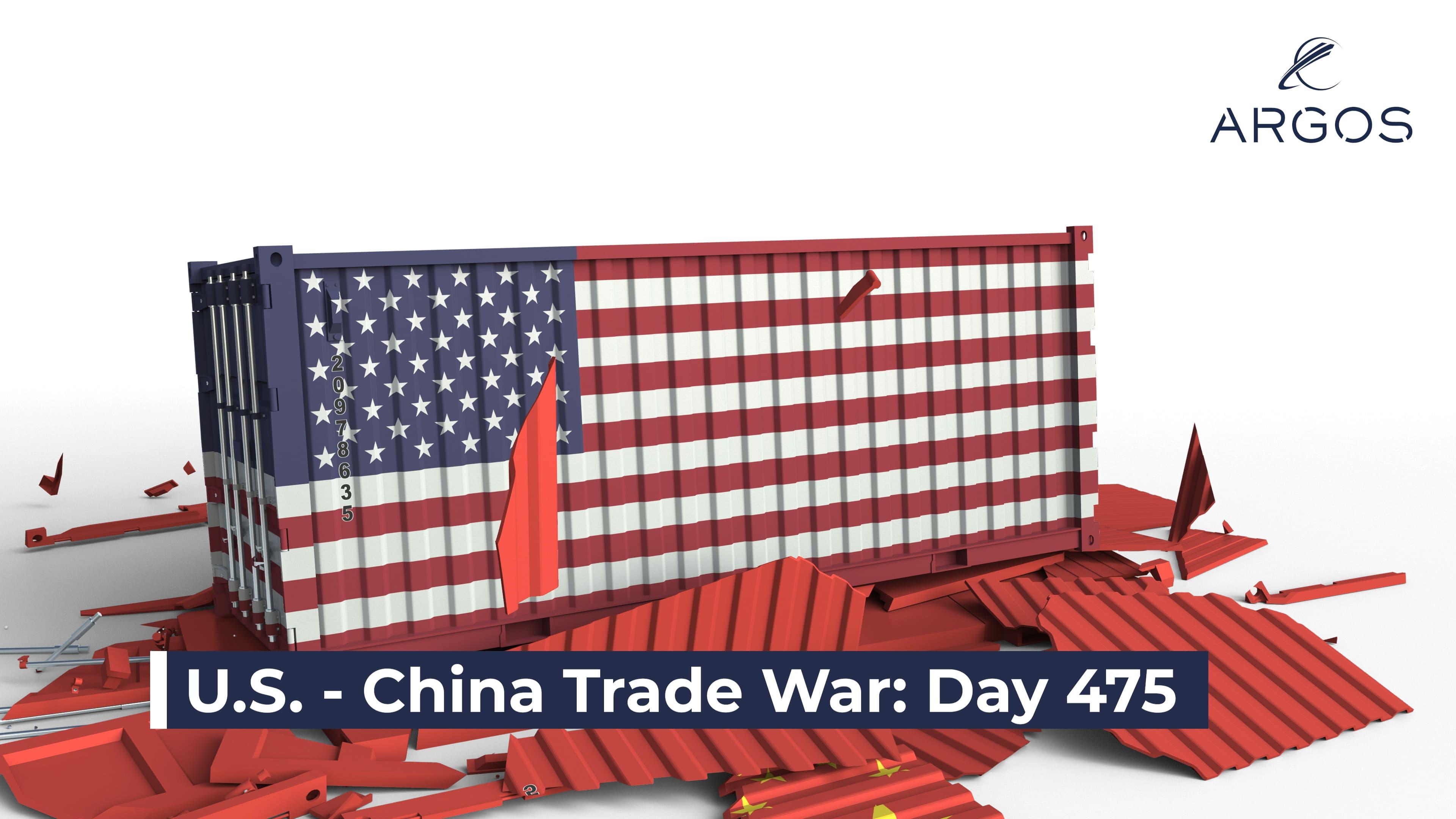 GUERRA COMERCIAL DE EE.UU. - CHINA: DÍA 475
